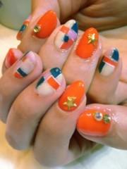 SAYUKI 公式ブログ/元気なカラーブロックネイル! 画像2
