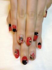 SAYUKI 公式ブログ/冬の赤黒ネイル! 画像1