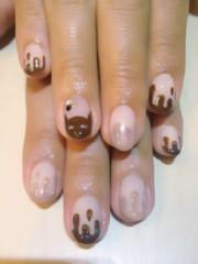 SAYUKI 公式ブログ/9月のチョコネコネイル! 画像2