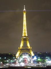 SAYUKI 公式ブログ/夜のエッフェル塔 画像3