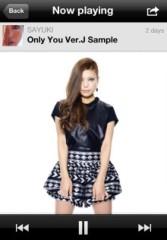 SAYUKI 公式ブログ/新曲Only you Ver.J歌詞&試聴!! 画像1