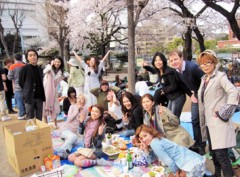 SAYUKI 公式ブログ/お花見@恵比寿 画像3