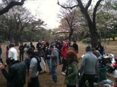 SAYUKI 公式ブログ/代々木公園でお花見 画像1