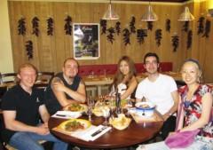 SAYUKI 公式ブログ/パリ2 友達とディナー 画像3