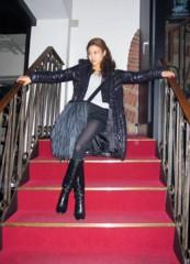 SAYUKI 公式ブログ/今日の格好  LE CIEL BLEUのフリンジバッグ 画像1