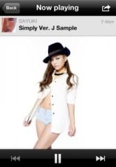 SAYUKI 公式ブログ/新曲Simply Ver.J歌詞&試聴!! 画像1