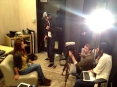 SAYUKI 公式ブログ/レコーディングにインタビュー! 画像1