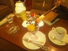 黒崎 翔晴 公式ブログ/【チョコレートパフェ】 画像1