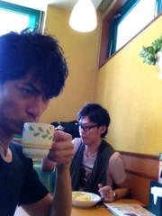 進藤学 公式ブログ/早く着き過ぎコンビ… 画像1