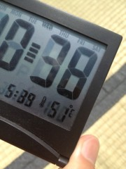 進藤学 公式ブログ/体感温度… 画像1