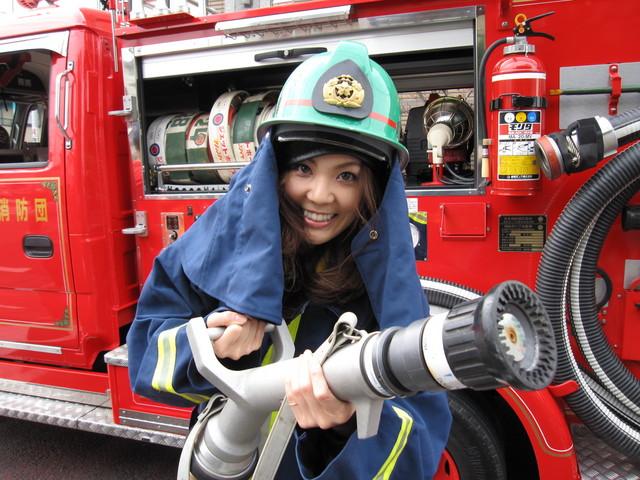消防団!火の用心!