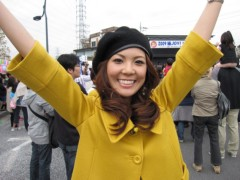 有宗麻莉子 プライベート画像/鳩ケ谷フェスタ現場レポート いざっ、取材へLet's go!