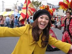 有宗麻莉子 プライベート画像/鳩ケ谷フェスタ現場レポート サンバパレード