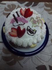 眞田貴恵 公式ブログ/ ケーキに鮪のっけたらいいんちゃう♪♪ 画像1