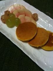 野崎史湖 公式ブログ/お麩を使ったパンケーキ 画像1