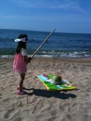 野崎史湖 公式ブログ/海に行ったよ 画像3