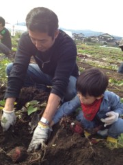 野崎史湖 公式ブログ/稲刈り 画像2