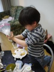 野崎史湖 公式ブログ/龍之介!お菓子作りに挑戦!! 画像1
