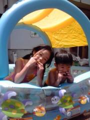 野崎史湖 公式ブログ/暑いですね〜。 画像1