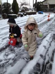 野崎史湖 公式ブログ/雪! 画像2