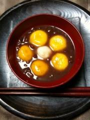 野崎史湖 公式ブログ/かぼちゃで作ったぜんざいです 画像1