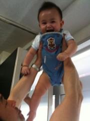 野崎史湖 公式ブログ/笑顔に癒されて…。 画像1