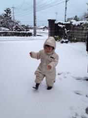 野崎史湖 公式ブログ/雪! 画像1