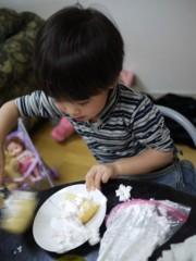 野崎史湖 公式ブログ/龍之介!お菓子作りに挑戦!! 画像2