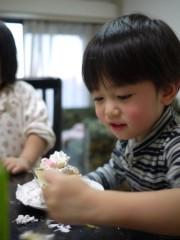野崎史湖 公式ブログ/龍之介!お菓子作りに挑戦!! 画像3
