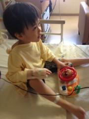 野崎史湖 公式ブログ/龍之介 緊急入院していました。 画像1