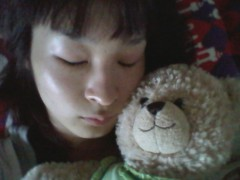 KICO 公式ブログ/KEIKOが寝てる図。 画像1
