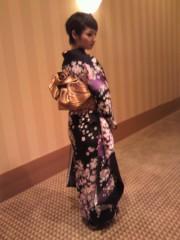 KICO 公式ブログ/ショートヘアに着物姿のKEIKO 画像1