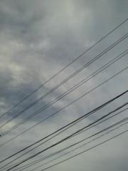 KICO 公式ブログ/帽子が風に飛ばされそうな瞬間と青空。 画像2