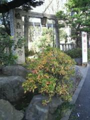 KICO 公式ブログ/鳩森八幡宮。 画像1