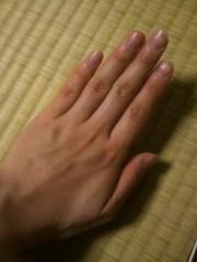 KICO 公式ブログ/MY HAND。 画像1
