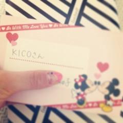 KICO 公式ブログ/お手紙のあったかさ。 画像1