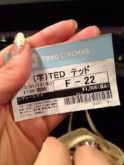 """KICO 公式ブログ/涙の数だけ優しくなれる映画、""""Ted"""". 画像2"""