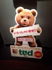 """KICO 公式ブログ/涙の数だけ優しくなれる映画、""""Ted"""". 画像1"""