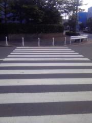 TERUJi / テルジヨシザワ 公式ブログ/横断歩道の謎 画像1