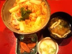 TERUJi / テルジヨシザワ 公式ブログ/コケコッコ丼 画像1