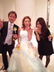 さやぴ 公式ブログ/結婚式写メ 画像1