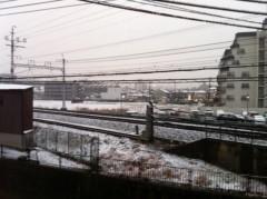 木村将孝(COZZENE) 公式ブログ/北摂豪雪…その辺でソリで遊んだろか!そのまま阪急電車に突っ込むわ 画像1