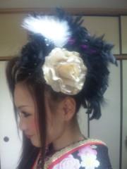 石川真衣 公式ブログ/□晴着用ヘア公開 画像2