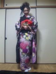 石川真衣 公式ブログ/□晴れ着公開です 画像2