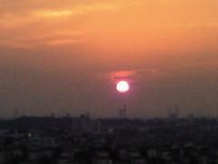 倉田恭子 公式ブログ/今日の夕陽 画像1