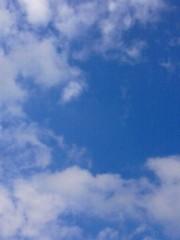 倉田恭子 公式ブログ/青空 画像1