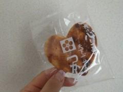 倉田恭子 公式ブログ/手焼きせんべい 画像3