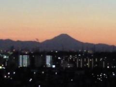 倉田恭子 公式ブログ/夕焼け 画像1