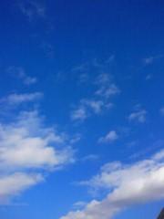 倉田恭子 公式ブログ/空、高い〜 画像1