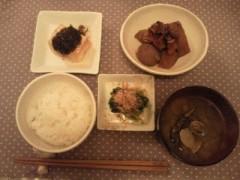 倉田恭子 公式ブログ/お腹に優しく〜 画像3